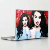 charli xcx Laptop & iPad Skins featuring Charli XCX  by Illuminany