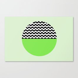 Moiety Green Canvas Print