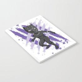 Black Panther (Splatter) Notebook