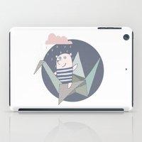 origami iPad Cases featuring Origami by De Assuncao création
