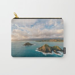 The Mokes and Lanikai Beach Carry-All Pouch