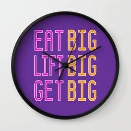 Big x 3 (#12) Wall Clock