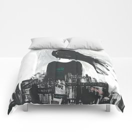 Sketch Series 002 Comforters