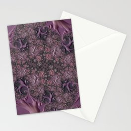 Cracked Amethyst Marble Stationery Cards