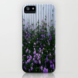 Purple Lantana iPhone Case
