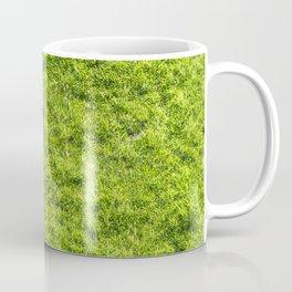 Field of fresh green grass Coffee Mug