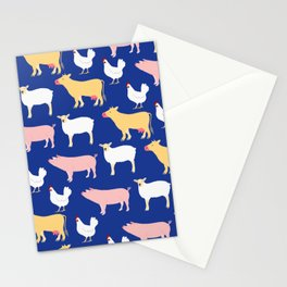 Farm Friends Stationery Cards