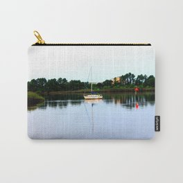 Sampit River Sailboat Carry-All Pouch