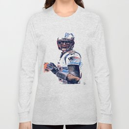"""GOAT"" featuring Legend Tom Brady Long Sleeve T-shirt"