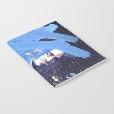 Blue Explosion Notebook