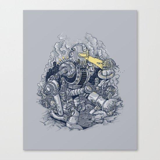 Zombie Exterminator Canvas Print