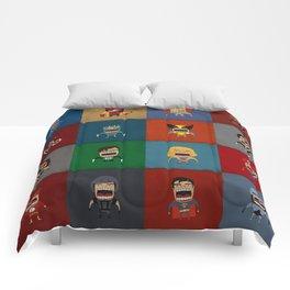 Screaming Heroes Comforters