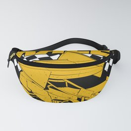 Dirt Track Racing Winged Sprint Car Driver Gift Fanny Pack