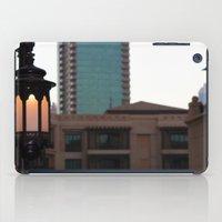 arab iPad Cases featuring Dubai - Lamp outside Burj Al Arab by gdesai