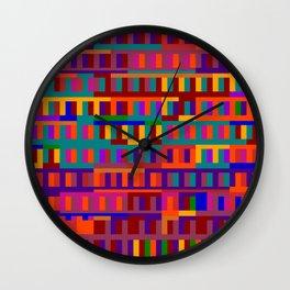 Beethoven Moonlight Sonata (Jewel Tones) Wall Clock