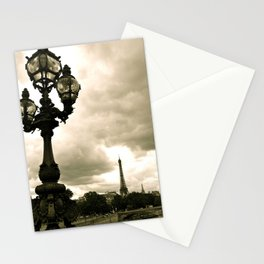 A Night In Paris Stationery Cards