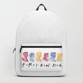 friends watercolor Backpack