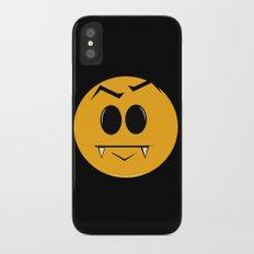 Vampire Smilie iPhone X Slim Case