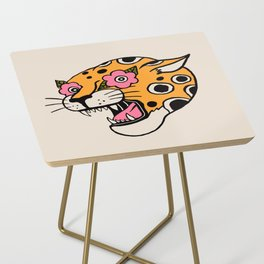Cheetah Side Table