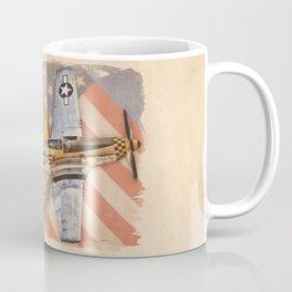 Aviation Pinups - P-51 Mustang Coffee Mug