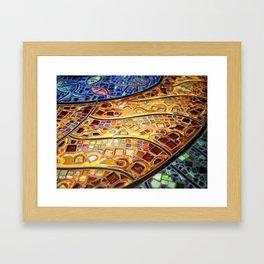 Venice Tiles Framed Art Print