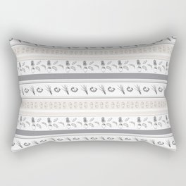 Lineal Bunnies Rectangular Pillow