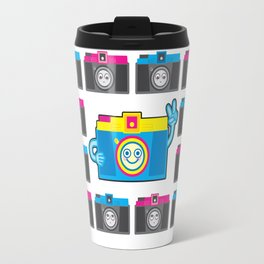 We are watching you. PEACE!!! Travel Mug