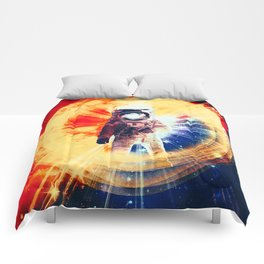 With Love From Space Comforters