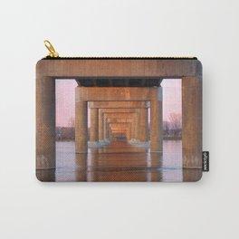Twilight Bridge Pillars Carry-All Pouch