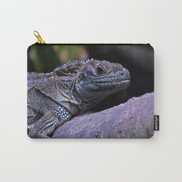 Friend in Blue Carry-All Pouch