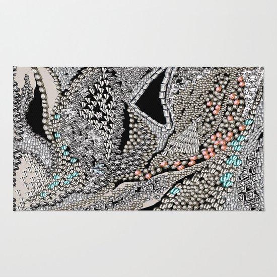 Silver Jewel Rug