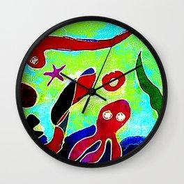 Primordial  Soup     by Kay Lipton Wall Clock
