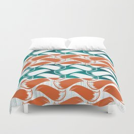 Foxhatched Duvet Cover