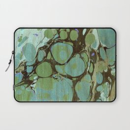 Abstract Painting ; Seaweed Laptop Sleeve