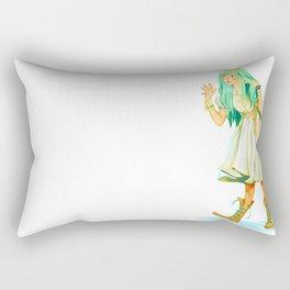 BLUE HAIRED COSETTE Rectangular Pillow