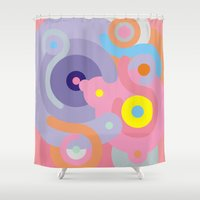 baroque Shower Curtains featuring Modern Baroque by Stop::mashina ~SharenBob