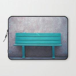 Green Bench Laptop Sleeve
