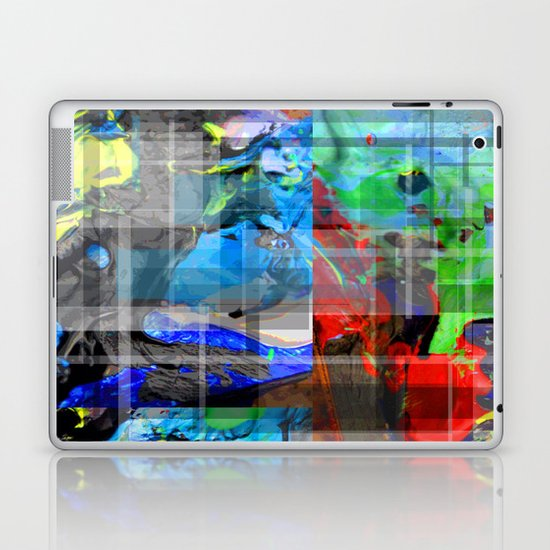 The Mixing Of Paint  Laptop & iPad Skin