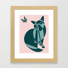 Flutter (Electric Catnip) Framed Art Print