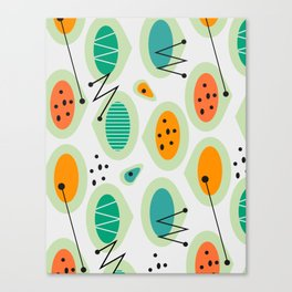 Mid-century abstraction Canvas Print