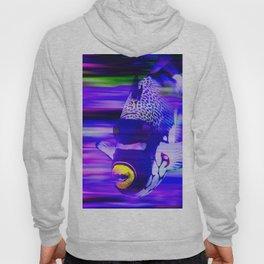 ANGEL FISH Violet Purple Hoody