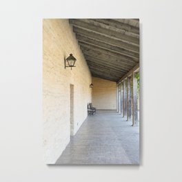 Old Outside Corridor Metal Print