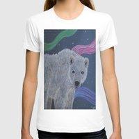 polar bear T-shirts featuring Polar Bear by Renee Trudell