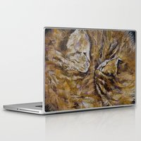 kittens Laptop & iPad Skins featuring Sleeping Kittens by Michael Creese