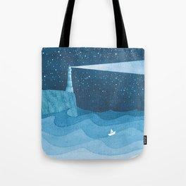 Lighthouse illustration Tote Bag