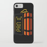 panic at the disco iPhone & iPod Cases featuring PANIC by Terry Mack