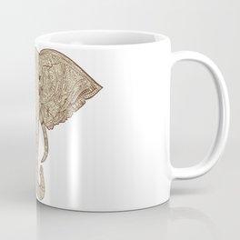 Elephant Mandala Coffee Mug