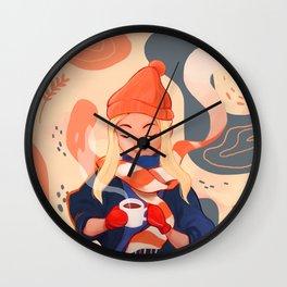 Warmest Wishes Wall Clock