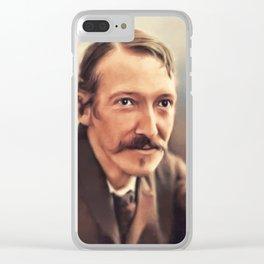 Robert Louis Stevenson, Literary Legend Clear iPhone Case