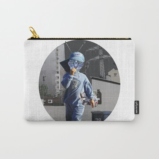 CatKid in illusion City Collage Carry-All Pouch